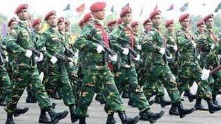Parade by Bangladesh Army