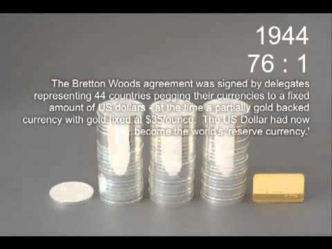 Silver to Gold Ratio Historical Timeline (1883 to 2009) | Silver Investments | Silver Coins