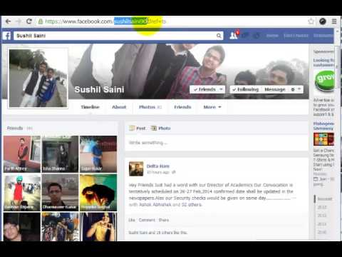 Trick to View Private Profile Pic of Any Facebook User