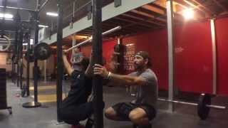 Miss Less Overhead Squats :: WODdoc :: P365 :: Episode 440