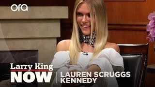 Lauren Scruggs Kennedy removes prosthetic for first time | Larry King Now | Ora.TV