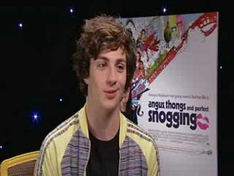 aaron johnson interview - Angus thongs and perfect snogging