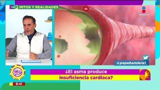 oEl asma se produce por insuficiencia cardiaca?  Sale el Sol