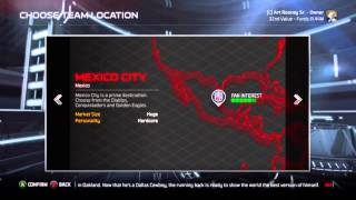 How to Relocate a team in Madden 15