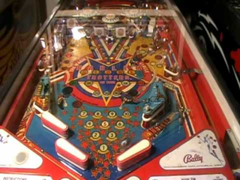 Harlem Globetrotters Pinball Machine Video