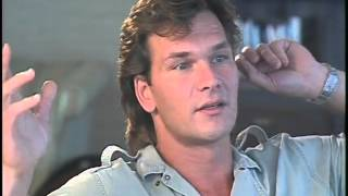 Patrick Swayze interview for Dirty Dancing 1987