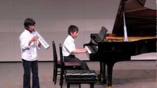 11歳 発表会 連弾 鍵盤ハーモニカ   チャールダーシュ