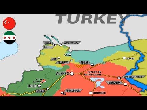 1 февраля 2018. Военная обстановка в Сирии. Турецкие силы захватили у курдов ПЗРК «Игла».
