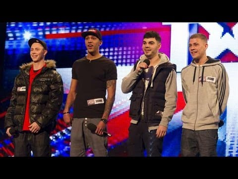 The Mend - Britain's Got Talent 2012 audition - International version