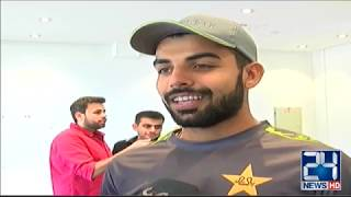 Pakistan Cricketers Exclusive Interview before World Cup