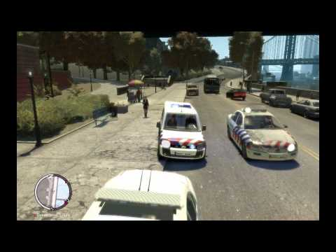 Gta 4 Ford Transit Connect Dutch dog police