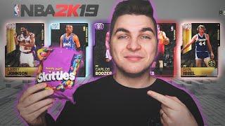 The SKITTLES DRAFT on NBA 2K19! MyTeam Draft Mode