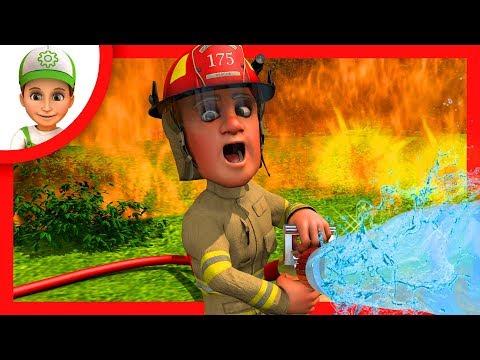 Мультфильм где Винтик помогает потушить пожар в лесу. Мультфильм про пожарную машину - Новые серии