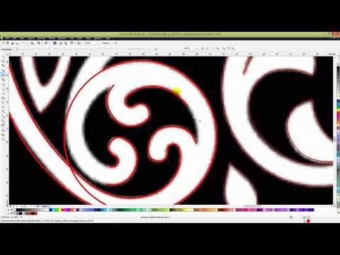 Перевод растра в вектор в CorelDraw | Видеоуроки kopirka-ekb.ru