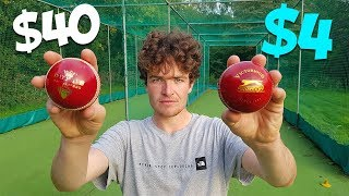 £4 Cricket Ball vs Expensive Dukes | Can You SPOT The Difference?