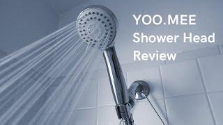 (7.20 MB) YOO.MEE High Pressure Handheld Shower Head Review & Unboxing | Drain Help Mp3