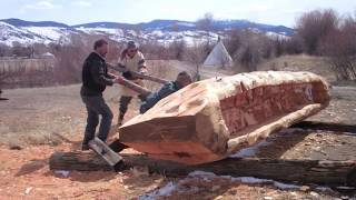 Dugout Canoe Carving: The Story of Belladonna Beaver