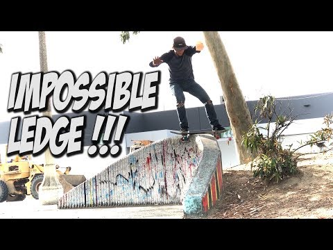 SKATING IMPOSSIBLE LEDGE AND MUCH MORE !!! - NKA VIDS -