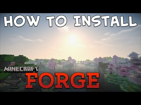 How To Install Minecraft Forge (1.9 + ALL VERSIONS!) No Nonsense Plain English