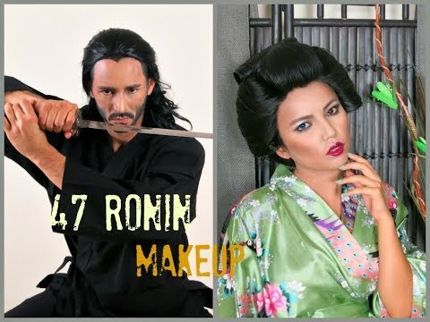 47 Ronin Make-up Tutorial + GIVEAWAY!!!