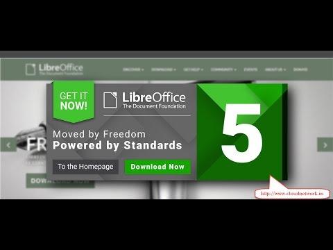 LibreOffice — пакет офисны