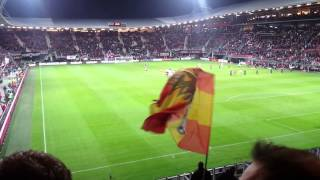 AZ Alkmaar - Go Ahead Eagles opkomst 06-12-2014