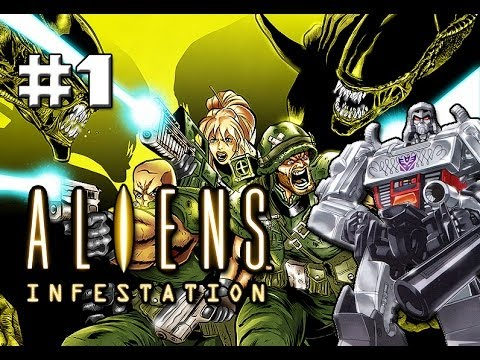 Aliens Infestation – Part 1 – The evil space robots