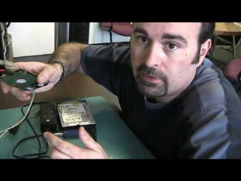 How to access a hard drive from a dead computer.