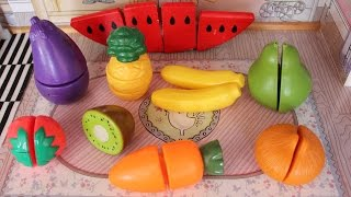 Learn Fruits and Vegetables with Toys 水果和蔬菜 | 小朋友學英文