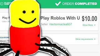 I paid a kid on Fiverr to play Roblox & it changed my life