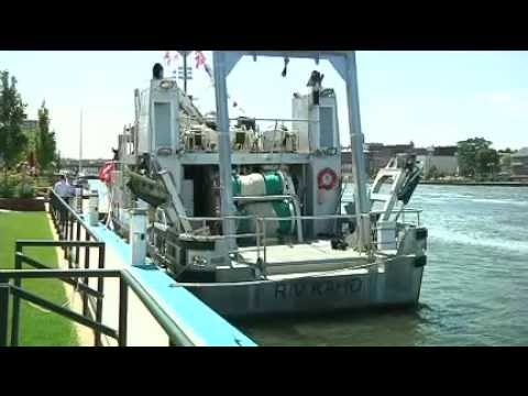 USGS's Oswego unveiling of its new research vessel, R/V Kaho (August 2014)