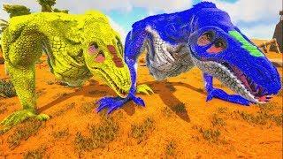 Encontrei Um Amigo Crawler, Os Corruptos Prenderam As Fêmeas Crawlers! Ark Dino Evolved (PT/BR)