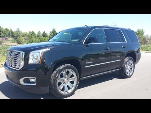 SOLD.2015 GMC YUKON DENALI 6.2L 4WD ONYX BLACK FOR SALE LOADED UP $74,965 LIST 855.507.8520