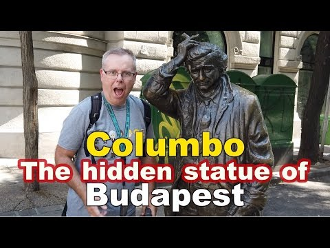 The best hidden Statue to see in Budapest - Columbo