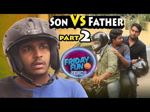 Son Vs Father Part-2 | Friday Fun Telugu Comedy Web Series | Avinash Varanasi | Srikanth Mandumula