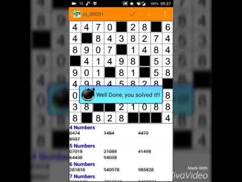 Fill-it ins number puzzles PRO APK Cover