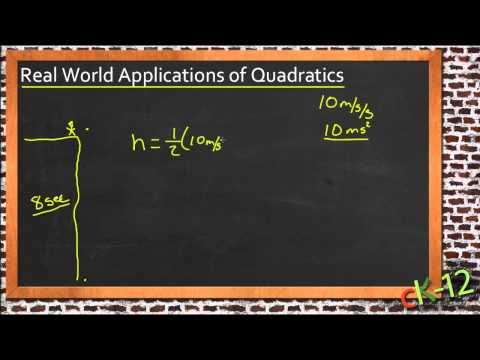 Solving Real-World Problems Using Quadratic Equations: A Sample Application