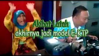 (Full) Akibat Latah akhirnya jadi model E-KTP | ini reaksi nenek