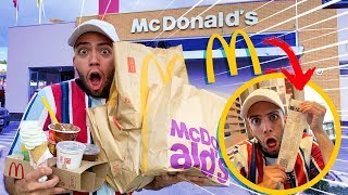 COMPREI o CARDÁPIO INTEIRO do MCDONALD'S!!!