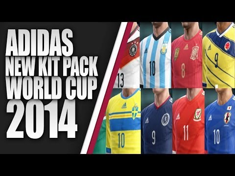 ADIDAS KITS PACK WORLD CUP 2014 by BK-201 [ PES 2013 ] [ DESCARGA ]...