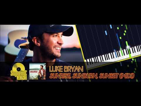 Download  Luke Bryan - SUNRISE, SUNBURN, SUNSET FULL MIDI Gratis, download lagu terbaru