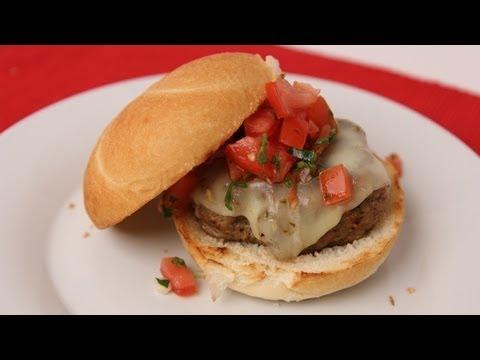 Tex Mex Burger Recipe - Laura Vitale