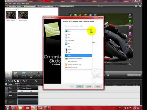 como pasar videos de formato camtasia stdio a formato windows media