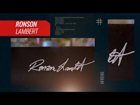 "Ronson Lambert Signature ""Hour Glass"" Ledge by American Ramp Company"