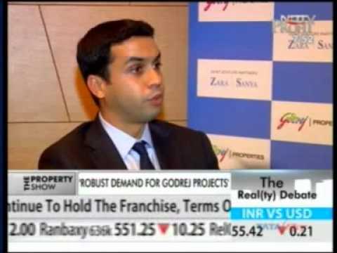 951 NDTV Profit The Realty Debate 13 Sept 2012 11min 58sec Focus On Residential Projects   Mr  Pirojsha Godrej   MD & CEO, Godrej Properties 19 46pm