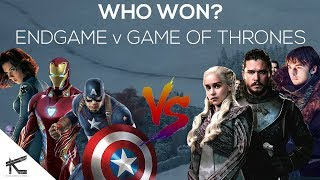 Avengers Endgame vs Game of Thrones Season 8