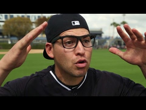 """Members of the 2015 Yankees recreate a memorable scene from the classic movie, """"The Sandlot"""" Check out http://m.mlb.com/video for our full archive of videos, and subscribe on YouTube for the..."""