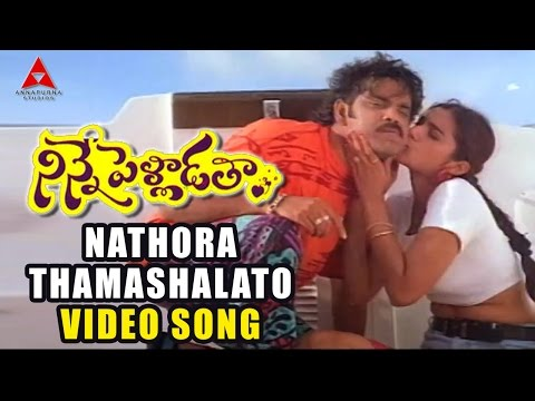 Nathora Thamashalato Video Song | Ninne Pelladatha Movie | NagarjunaTabu...