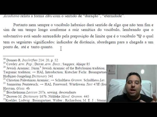 II Samuel 7.12-16 fala de Jesus ou Salomão? Professor Fabio Sabino
