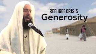 Refugee crisis || Generosity || Ustadh Wahaj Tarin